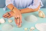 Melano Twisted Tabora armband rosekleurig _