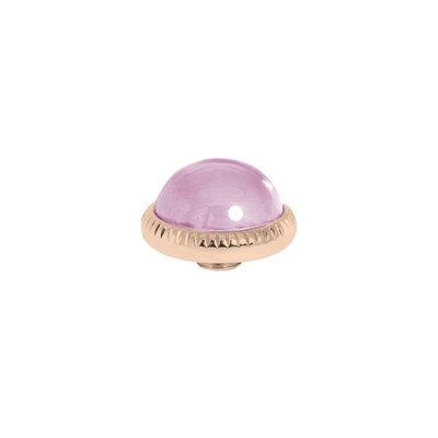 Melano Vivid Meddy Ball 12mm Rose Goudkleurig Zirkonia Blossom