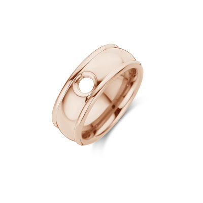 Melano Vivid Ring Notch Rose Goudkleurig