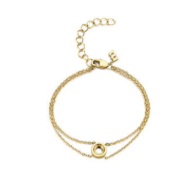 Melano Vivid Vero armband goudkleurig