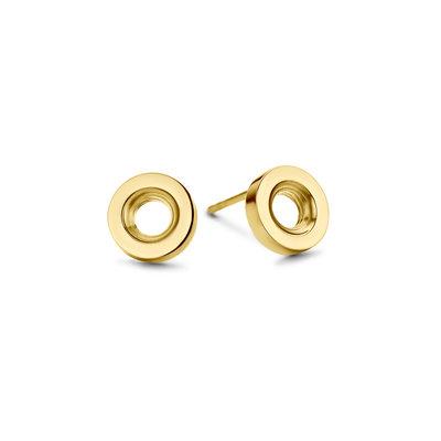 Melano Vivid Veda oorbellen goudkleurig