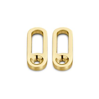 Melano Twisted Tedd Hanger goudkleurig