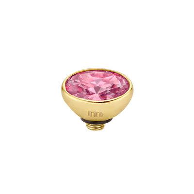 Melano Twisted Meddy 6mm Oval Goudkleurig Rose