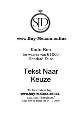 Buy-Melano.Online kado bon € 100