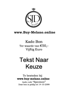 Buy-Melano.Online kado bon € 50