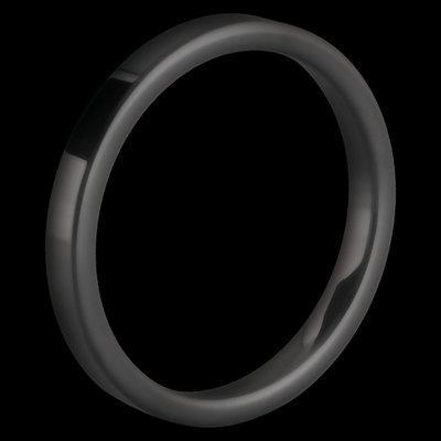 Melano Keramische Side Ring Mat Zwart