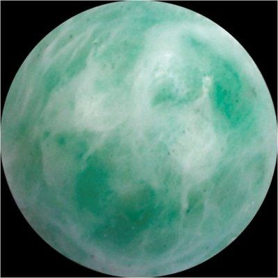 Melano GEM Stone Ball China Amazonite