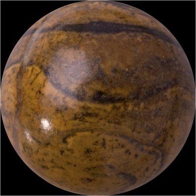 Melano GEM Stone Ball Stromatolite