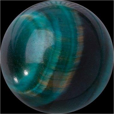 Melano GEM Stone Ball Green Tigereye