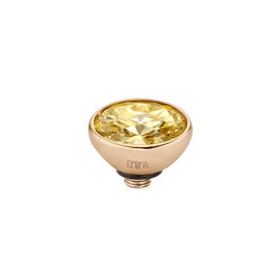 Melano Twisted Meddy 6mm Oval Rose Goudkleurig Gold-coloured Shadow