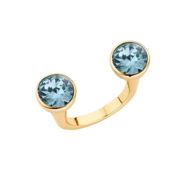 Melano Twisted Open Ring Goudkleurig