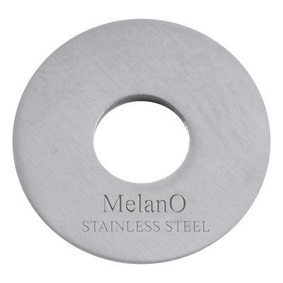 Melano Sturdy Disc Edelstaal Zilverkleurig