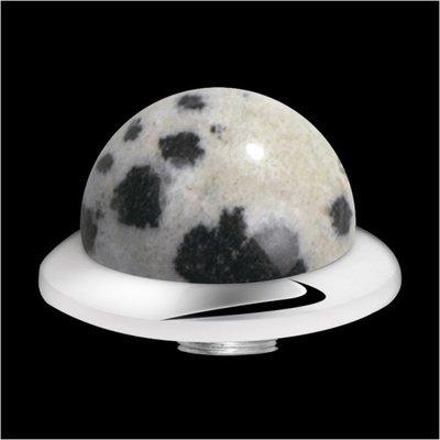 Melano Sturdy Meddy Low Ball Dalmatian Jasper