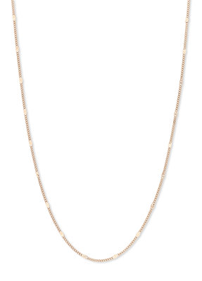 Melano Friends Ketting Flat Anchor Rose Goudkleurig