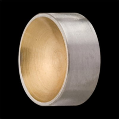 Melano 2de Kans Sturdy Meddy Round Goudkleurig 12mm