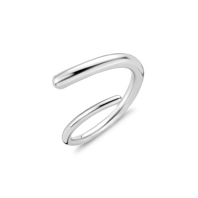 Melano Helix Ring Limited Edition Zilverkleurig