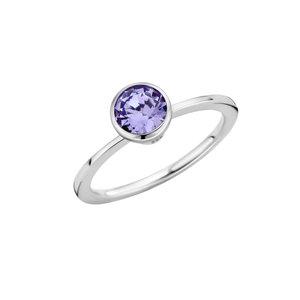 Melano Twisted Ring Zilverkleurig Petit 1mm