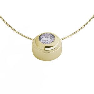 Melano Vivid Vana Pendant Stainless Steel Gold-coloured