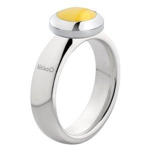 Melano Vivid Ring Vicky 6mm Edelstaal Zilverkleurig